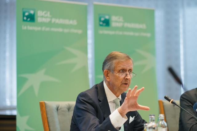 Carlo Thill, bien décidé à jouer le rôle de consolidateur dans la banque privée. (Photo: Sébastien Goossens / archives)