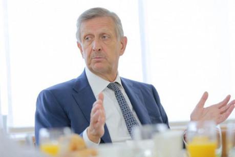 Pour Carlo Thill, le virage stratégique est bien négocié par la BGL, avec le soutien du groupe BNP Paribas. (Photo: Luc Deflorenne)