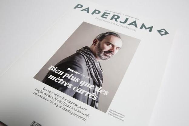 Le dernier numéro de Paperjam2 consacre son dossier à l'immobilier professionnel. (Photo: Maison Moderne Studio)