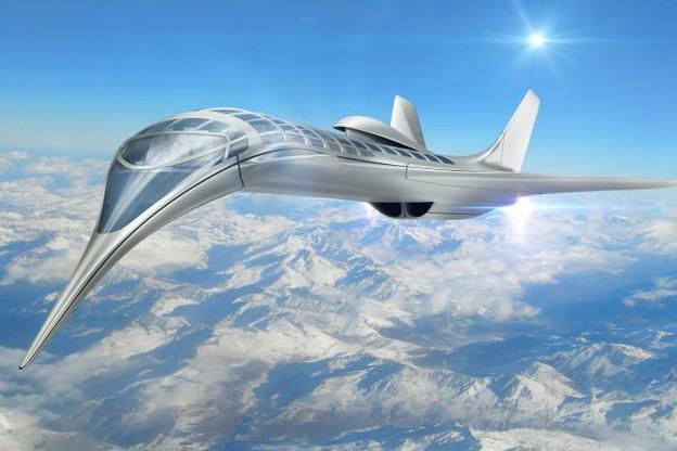 Certains ingénieurs du secteur envisagent l'avion de demain comme une aile delta dépourvue de queue. (Photo: AdobeStock / 3000ad)