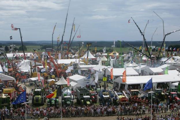 Le champ de foire de Libramont et ses 200.000 visiteurs dégusteront des Bofferding et Battin, exclusivement. (Photos: LEC)