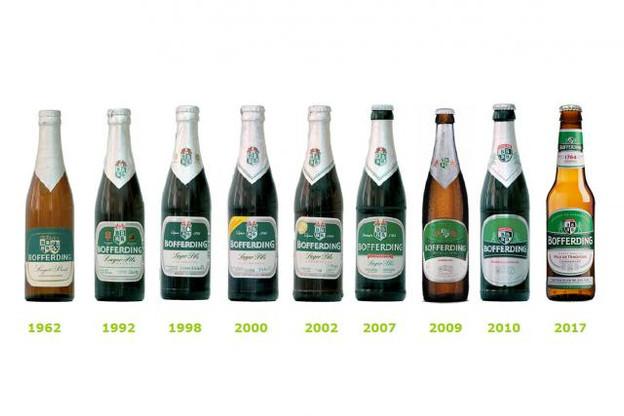 La nouvelle bouteille de Bofferding est plus une évolution qu'une révolution. (Photo: Brasserie nationale)