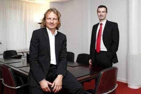 Mario Di Stefano et Renaud Le Squeren (Di Stefano Moyse, Avocats à la Cour) (Photo : Olivier Minaire)