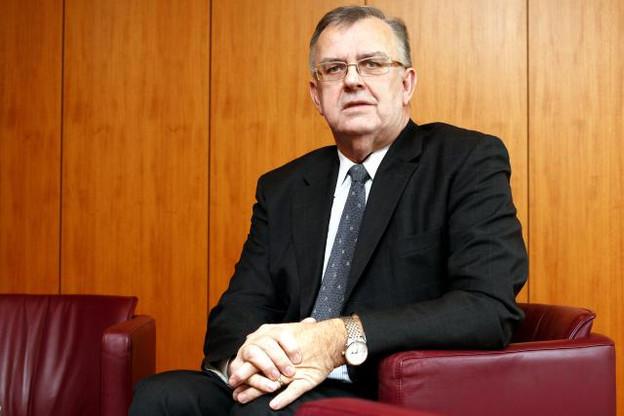 Victor Rod a œuvré pendant 35 ans à la tête de la régulation du secteur des assurances. (Photo: Olivier Minaire/ archives)