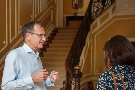 L'ambassadeur britannique au Luxembourg, John Marshall, attend beaucoup du Conseil européen des 14 et 15 décembre prochains. (Photo: Lala La Photo)