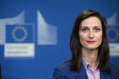 Le projet de règlement européen défendu par la commissaire Mariya Gabriel vise à changer les rapports de force entre les Gafa et leurs clients professionnels. (Photo: Union européenne)