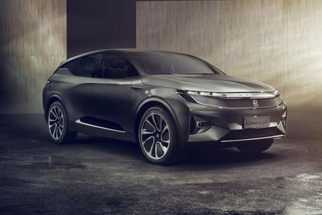 Le concept-car à propulsion électrique présenté en première mondiale à Las Vegas a créé la surprise et s'impose comme l'une des premières applications concrètes de la 5G. (Photo: Byton)