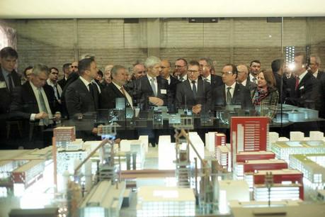 Des chefs d'entreprise de part et d'autre de la frontière se sont réunis à Paris pour créer un business club commun.  (Photo: paperJam / Archives)