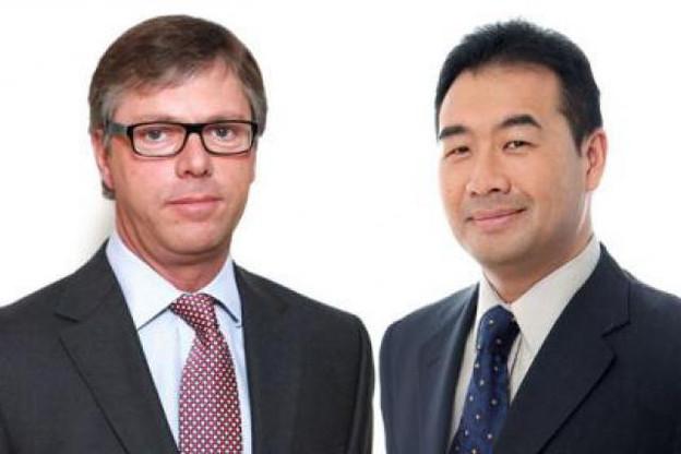 Bruno Beernaerts et Alain Lam, managing director de Capita (Photo: Capita)