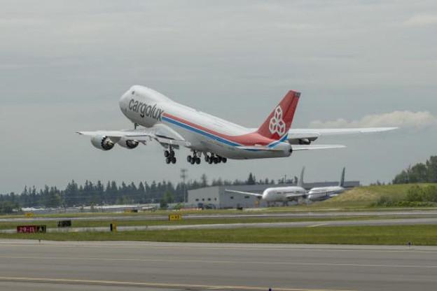 City of Dudelange a décollé ce mercredi de Seattle pour joindre Luxembourg. (Photo: Cargolux)