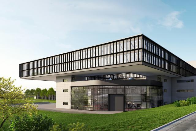 Le futur bâtiment aura la capacité d'accueillir 400 personnes, soit l'ensemble du staff administratif de la compagnie, actuellement localisé dans trois bâtiments différents. (Photo: Cargolux)