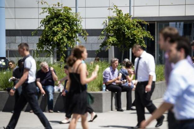 Le texte de la nouvelle convention collective bancaire, qui concerne quelque 26.100 salariés sur la Place, devrait être signé d'ici la fin du mois de juin, selon les partenaires sociaux. (Photo: Anthony Dehez / archives)