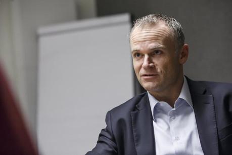 Georges Muller, CEO de Cegecom: «Nous travaillons toujours étroitement avec Encevo. Nous ne sommes plus dans la même famille, mais nous continuons à nous entendre très bien.» (Photo: Maison Moderne)