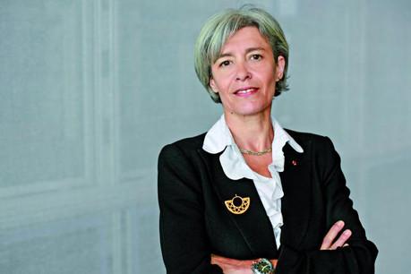 Claudie Haigneré fait l'éloge de l'Agence spatiale européenne dont les membres sont obligés de financer la recherche fondamentale et la recherche appliquée. (Photo: CSI)