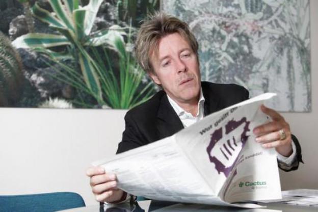 Laurent Schonckert, le directeur général de Cactus, est l'invité de paperJam.TV ce lundi.  (Photo : Luc Deflorenne /archives)