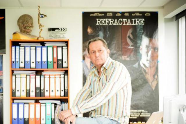 Nicolas Steil, président et administrateur délégué d'Iris Productions mardi sur paperJam.TV. (Photo: David Laurent/Wide/archives)