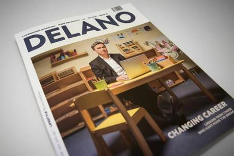 Changer de carrière à tout âge? Delano s'y est intéressé pour l'édition de mai parue aujourd'hui. (Photos: Maison Moderne Studio)
