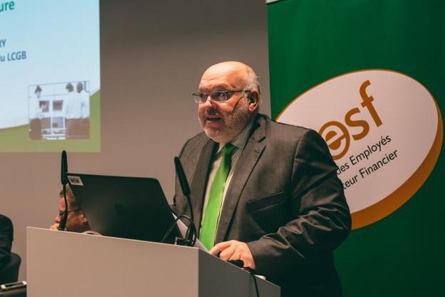 Patrick Dury préside le LCGB depuis 2011. (Photo: Maison Moderne / Archives )
