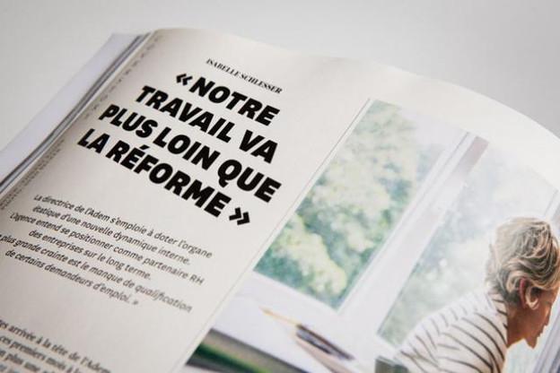 La coverstory de Paperjam1 plonge dans les coulisses de l'Adem. (Illustration : Maison Moderne Studio)