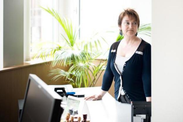 Christine Klein, manager – Human Resources Administration, Banco Bradesco Europe (Photo : David Laurent/Wide)