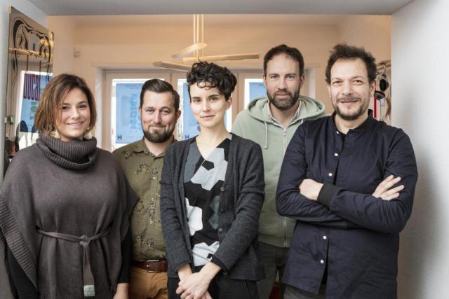 Virginie Maccio, Michel Kowalski, Pauline Lacord, Dominique Bouche et David Richiuso forment Be Bunch. (Photo: Maison Moderne)