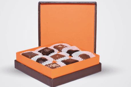 Boîte de luxe «Mélange de neuf pralines» – 85 grammes – 7,90€ – par les Ateliers du Tricentenaire, à Bissen. (Photo: Ateliers du Tricentenaire à Bissen)