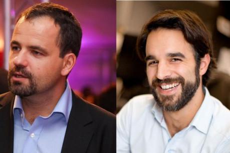 Nicolas Raulot et Pierre Sorlut ont été retenus par le jury. (Photos : archives paperJam)