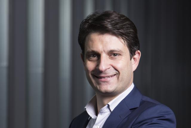 Yves-Laurent Kayan, CEO de CoinPlus. (Photo: Blitz)