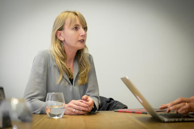Nadine Clemens, présidente de l'association Design Friends. (Photo: Benjamin Champenois)