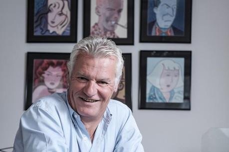 Jean-Luc Mines: «Je sens émerger un élan d'optimisme.» (Photo: Julien Becker)