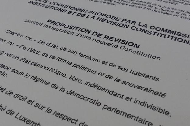 Les suggestions du grand public sur la nouvelle Constitution sont désormais attendues jusqu'au 16 octobre. (Photo: DR)