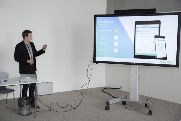 La participation au forum Mind & Market a joué un rôle fondamental pour la start-up. (Photo: Deloitte)