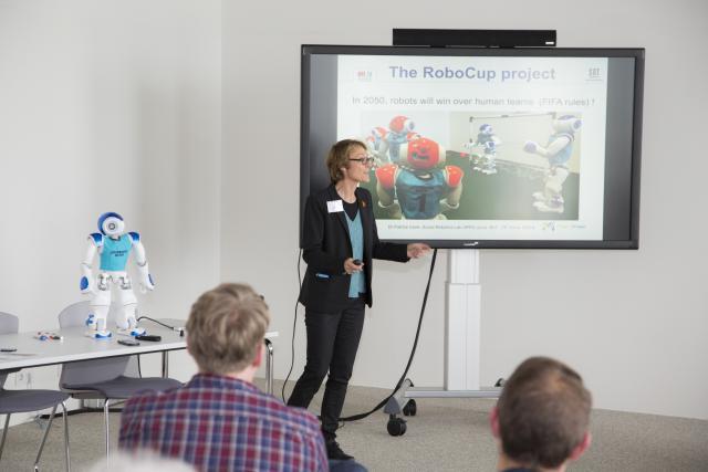 En tant qu'initiateur de ce projet, le SnT – Université du Luxembourg aura l'opportunitéde participer à des compétitions internationales. (Photo: Deloitte Luxembourg)
