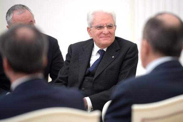 Le président italien dit assumer son rôle de garant des institutions.  (Photo: Licence C.C.)