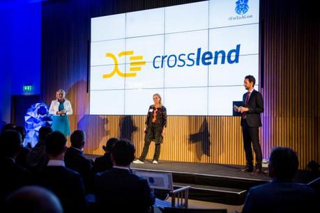 Créée en 2014 à Berlin, Crosslend a développé une plateforme qui vise à mettre en relation les banques et les établissements de crédit avec les investisseurs (ici lors des Fintech Awards en 2016). (Photo: Maison moderne / archives)
