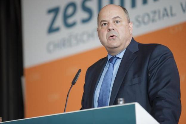 L'appel au rassemblement lancé par Marc Spautz n'a pas été très suivi du côté de la Chambre des députés. (Photo: Paperjam.lu / archives)