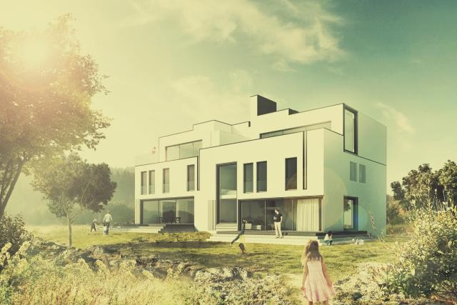 Le projet «La silhouette du Bierg» de l'atelier d'architecture Dagli a été nominé pour l'Ecola-Award 2015. Verdict en septembre prochain. (Photo: Dagli)