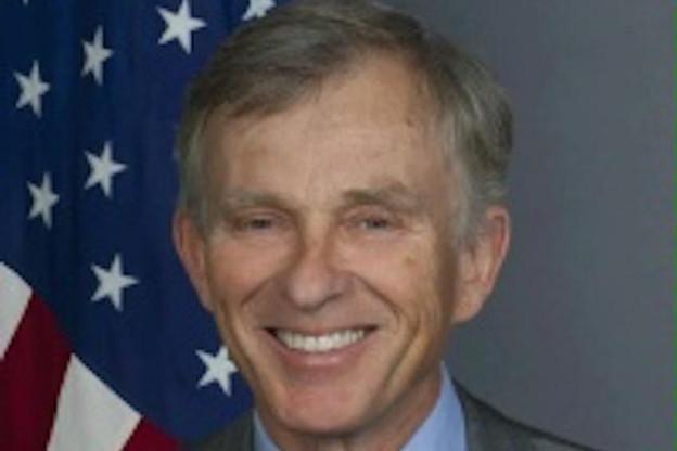 David McKean est aussi l'auteur d'ouvrages sur l'histoire politique américaine. (Photo: Ambassade des États-Unis)