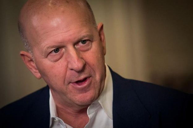 David Solomon rejoint le puissant cercle des banquiers de Wall Street. (Photo: Twitter/Bloomberg)