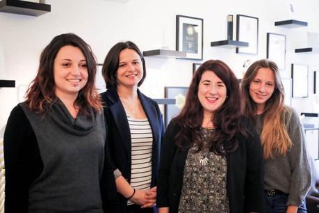 Elina Luzerne, Natalie Gerhardstein, Amélie Lanneau et Anna Katina ont rejoint Maison Moderne en mars. (Photo: Maison Moderne)