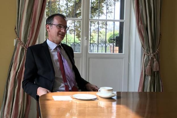 John Marshall tient des propos rassurants quant à l'avancée des négociations entre le Royaume-Uni et l'UE. (Photo: Maison Moderne)