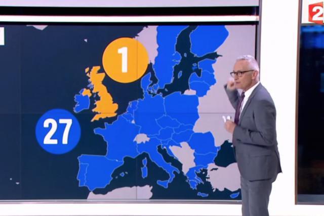 L'Union européenne sans le Luxembourg: un acte manqué sur France 2 qui conforte plus que jamais la nécessité de mettre en place une bonne et efficace image pour le pays. (Photo: copie d'écran France 2)