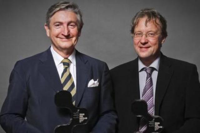 Pierre Huot et Thomas Schoenherr (Perspective 45) (Photo: Etienne Delorme)