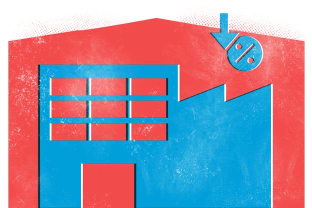 Parmi les quatre principaux partis représentés à la Chambre, seuls le CSV et le DP souhaitent réduire le taux d'affichage des entreprises. (Illustration: Studio Maison Moderne)