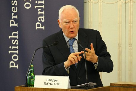 Philippe Maystadt a longtemps été ministre belge des Finances avant de prendre la tête de la BEI. (Photo: Licence C. C.)