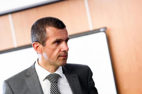 Geert De Bruyne avait pris ses fonctions d'administrateur délégué en octobre 2002, 10 mois après avoir intégré le conseil d'administration de la banque.  (photo: Jessica Theis / archives)