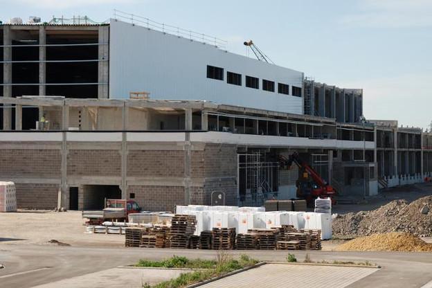 Le hall de CFL Multimodal s'étendra sur 30.000 mètres carrés, dont un tiers occupé par Delhaize. (Photo: CFL Multimodal)