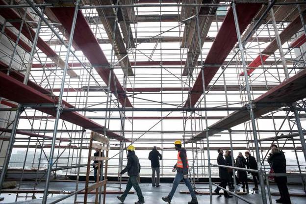 La livraison finale des nouveaux locaux de Deloitte est prévue pour le premier semestre 2019. (Photo: Nader Ghavami)