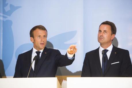 Les dirigeants belge, français, luxembourgeois et néerlandais ont réclamé des actions concrètes sur les questions migratoires, jeudi au Luxembourg. (Photo: Anthony Dehez)