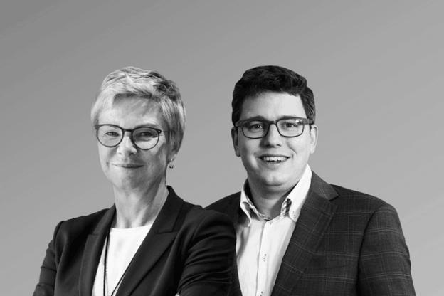 Martine Hansen, députée CSV, et Sven Clement, député Piraten. (Photo: Maison Moderne)